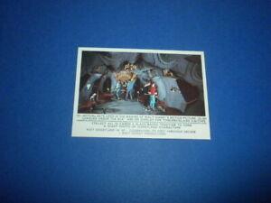 DISNEYLAND card #22 Donruss 1965 puzzle back HIGH GRADE Walt Disney Productions