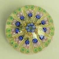 A FINE VINTAGE PERTHSHIRE PP2 MILLEFIORI GLASS PAPERWEIGHT PRE 1978