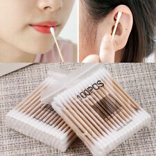 100pcs Double Head Cotton Swabs Women Makeup Buds Tip Cleaning Health Care Tools
