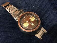 ~ Seiko Bullhead 6138-0040 Automatic Chronograph JDM Vintage Watch ORIGINAL RARE