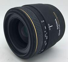 canon sigma ex 50mm f2.8 af dg makroobjektiv-garantiert + versandkostenfrei!