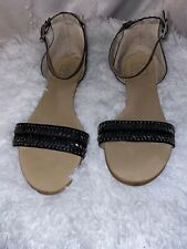 Dolce Vita Flat Beaded Studded Sandals Size 11