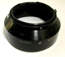 F Hood Shade Metal Snap on for Nikon 50mm f1.4 1:1.4 Ai Ai-s Nikkor 52mm Genuine
