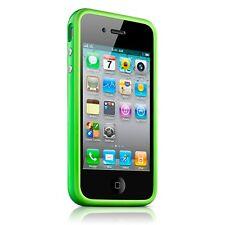 Coque Housse Bumper HQ Spécial Pour iPhone 4S / 4 Vert + film av / ar