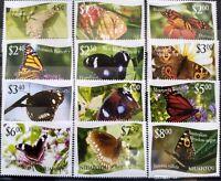 Worldwide Exquisite Stamp Sets MNH - 2012 Butterflies Tonga Niuafo'ou - Cat.$54