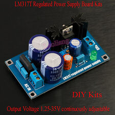 LM317T Regulated Power Supply Board Kits Single Power 1.25-35V Output Adjustable