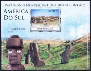 Mozambique 2010 MNH MS, UNESCO, archaeological site Chan Chan in Peru