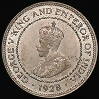 1928 | Jamaica George V Half-Penny | Cupro-Nickel | Coins | KM Coins