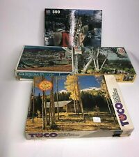 Vintage Lot of 4 Jigsaw Puzzles Tuco, Big Ben, Whitman