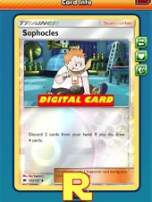 Sophocles (FOIL) - for Pokemon TCG Online ( DIGITAL ptcgo in Game Card)