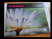 wunderschöner Wandkalender der Wilhelma Stuttgart 2015