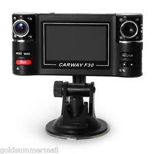 """2.7"""" F30 Dual Lens 120°  Auto Camcorder Car DVR Camera HD Driving Recorder"""