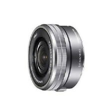 USED Sony E PZ 16-50mm f/3.5-5.6 OSS SELP1650 Silver Excellent FREE SHIPPING