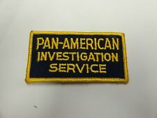 PATCH SECURITY PAN AMERICAN INVESTIGATION SERVICE OLDER