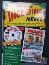 Key Education Real-Life Incredible News Reading Center KE 846042 CD Book New Box