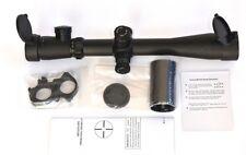 3.5-10x40e Riflescope by Optronics, Mill Dot Illuminated Reticule.
