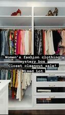 CLOSET CLEANOUT * Women's Fashion Mystery Clothing Box