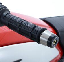 Ducati Scrambler 2015-2017 R&G racing handlebar bar end weights sliders black