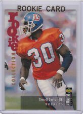 Terrell Davis ROOKIE CARD Denver Broncos Football 1996 Upper Deck Collection RC!