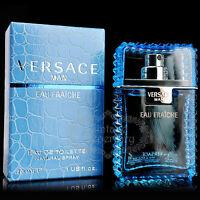Versace Perfume Man Eau Fraiche Eau De Toilette Men Cologne Parfum Fragrance 1oz