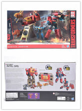 Transformers G1 BLASTER PERCEPTOR Platinum Edition Autobots Inter Ops Hot New
