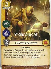 A Game of Thrones 2.0 LCG - 1x Maester Caleotte #107 - Base Set - Second Edition