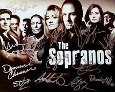 "The Sopranos HBO Drama TV Show Cast Reprint Signed 8x10"" Photo #3 RP"