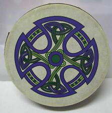 "Irlanda Irish Musica 8 ""fanore CROCE Irlandese Waltons Bodhran Tamburo BEATER 2 articoli"