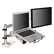 3M Monitor Arm Laptop Adapter 3 3/4 x 12 1/4 Silver/Black MALAPTOP2