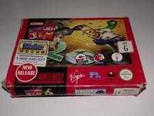 Earthworm Jim 2 Super Nintendo SNES Boxed PAL *No Manual*