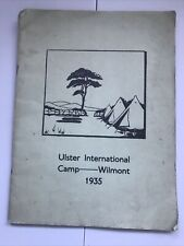 More details for vintage girl guides book 1935 - ulster international camp wilmont