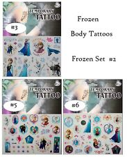 Frozen DISNEY TEMPORARY Body TATTOOS ELSA/ANNA/OLAF/SVEN/- LIST 2