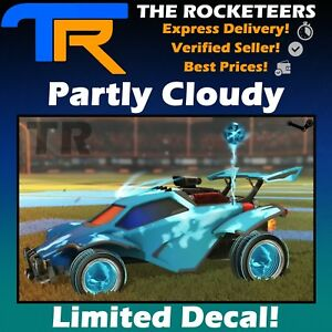 [PC] Rocket League Partly Cloudy Universal Animated Decal Rocket Pass 1
