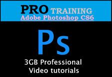 Adobe Photoshop Training CS6 3GB Professional Videos tutorials Instant Download