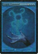 Cryptic Command - Textless Foil Light Played MTG Promo Magic 2B3