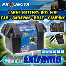 PROJECTA BB330 LARGE BATTERY BOX AGM DEEP CYCLE BATTERY 100AH 130AH DUAL SYSTEM