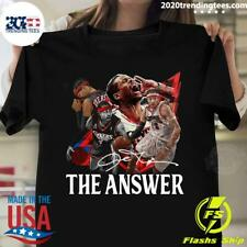 Allen Iverson nba basketball the answer signature Shirt , Allen Iverson