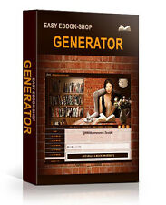Easy eBook Shop Generator + 5 hochwertige Bonus-Ebooks - PLR/Reseller-Lizenz