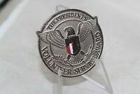 The President's Volunteer Service Award challenge coin