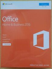 BRAND NEW Microsoft Office Home and Business 2016 Windows PC Retail