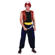 #ARABIAN GENIE BANDIT COMPLETE OUTFIT FOR MEN ONE SIZE FANCY DRESS