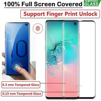 For Samsung Galaxy Note 10 10 Plus 5G Tempered Glass Screen Protector Black UK