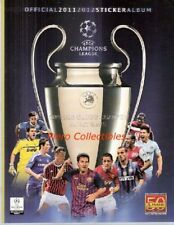Champions League 2011-2012 Album Vuoto Panini