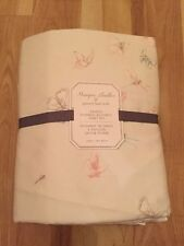 NEW POTTERY BARN KIDS MONIQUE LHUILLIER Sateen Ethereal Butterfly Sheets  TWIN