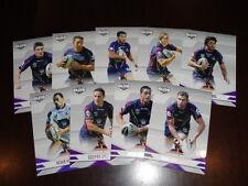 2013 NRL ELITE TEAM SET OF 9 CARDS MELBOURNE STORM