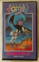 Robotech VHS 1985 Anime Part / Volume Four [4] Palace Small Case Release