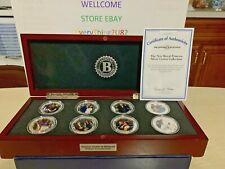 Prince Harry & Meghan Photo Proof 8 Coin Collection Boxed Set With COA
