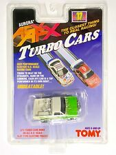 1996 TOMY Turbo AFX GMC Green PICKUP TRUCK  Slot Car RARE #8905 CRACKED Card A+