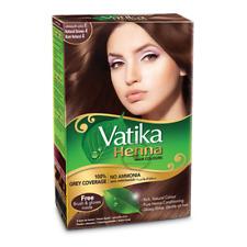 Vatika Henna Hair Colour  | Natural Brown | 6x10g Sachets