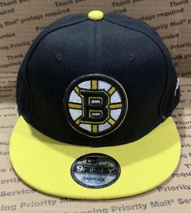 Boston Bruins New Era NHL Vintage Hockey Collection Adjustable Snapback Hat